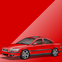 Volvo S60R 612 Passion Red