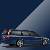 Volvo V70 R ph.I 417 Nautic Blue