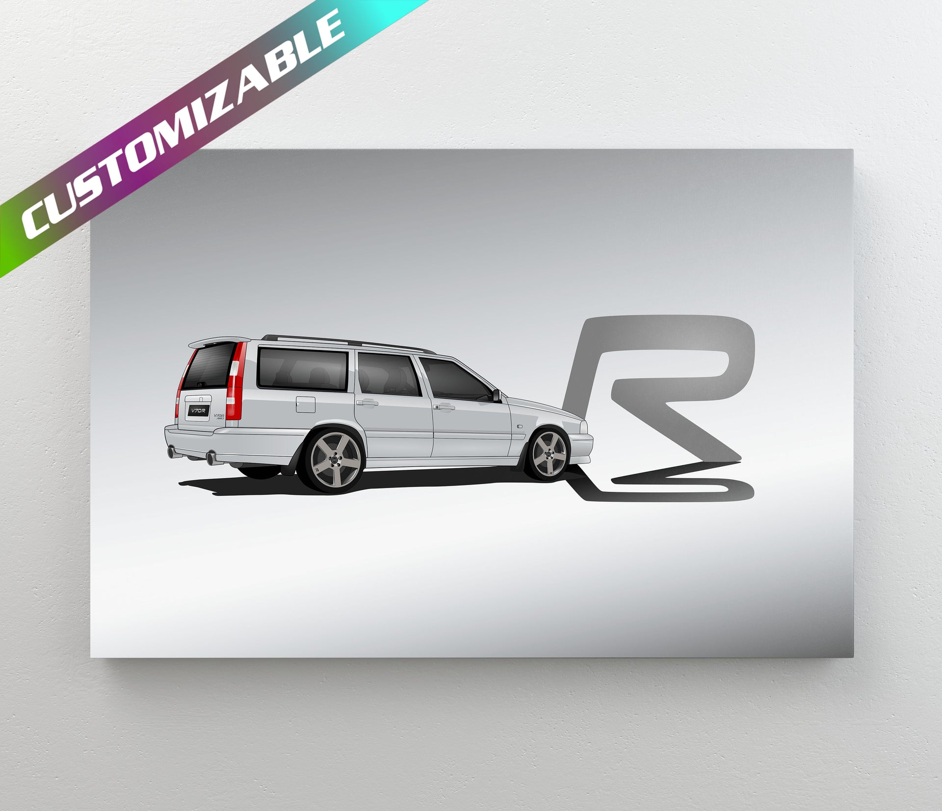 Volvo V70R Customize