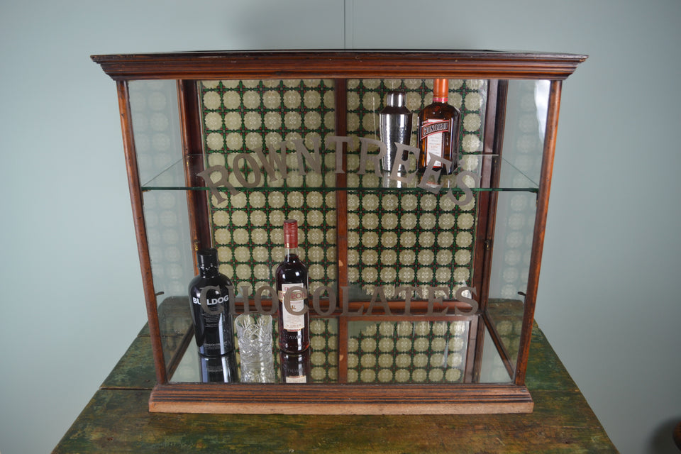 Edwardian Rowntree's Chocolates Display Cabinet