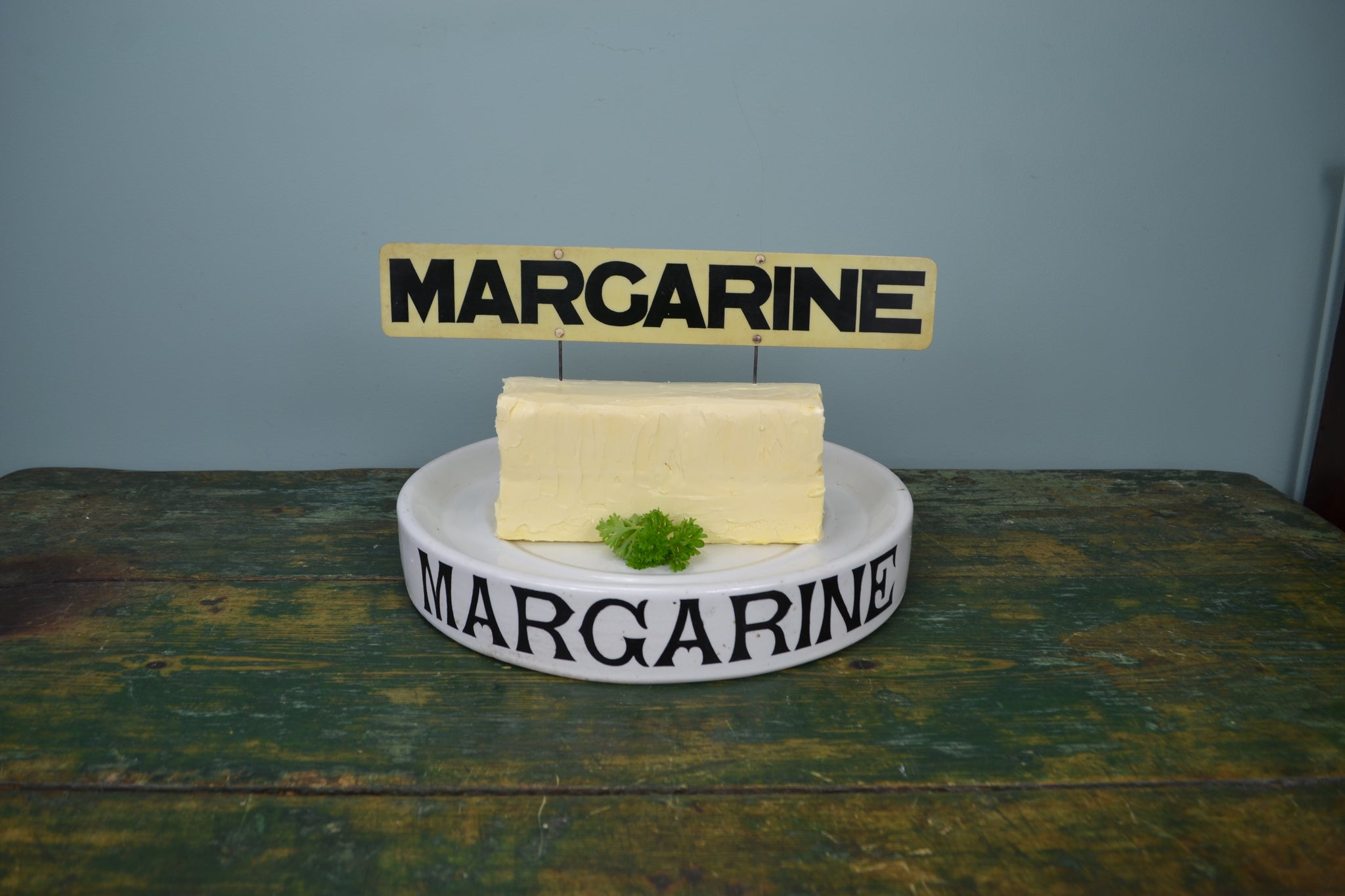 Grocers 'Margarine' Spiked Label