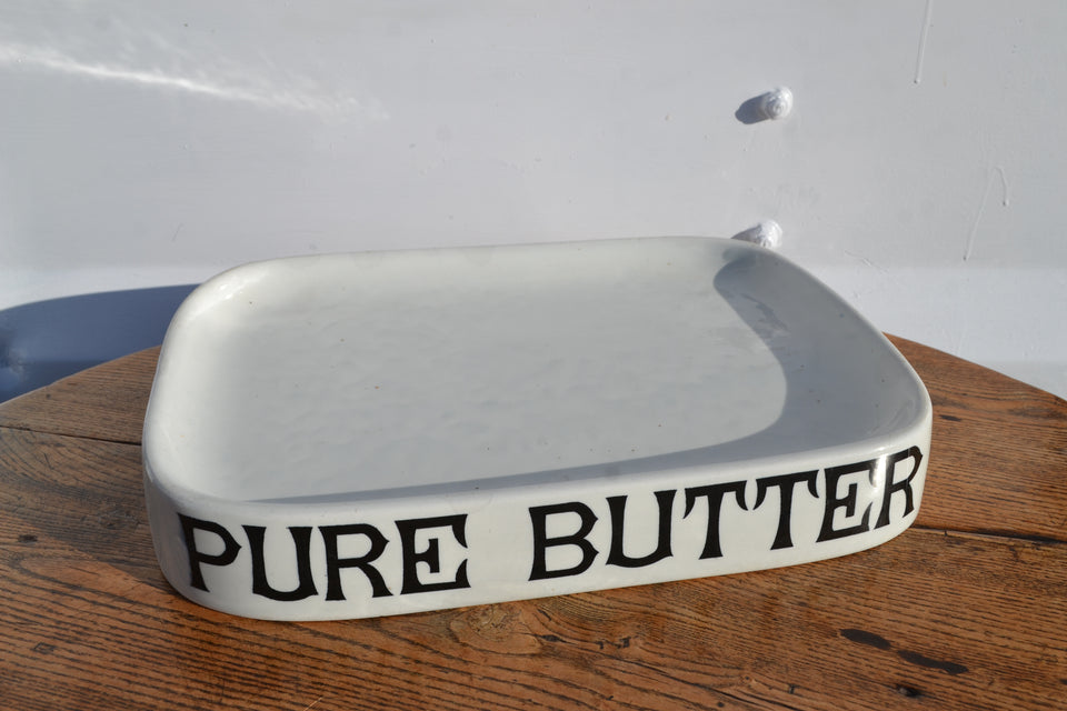 A Pure Butter grocers slab