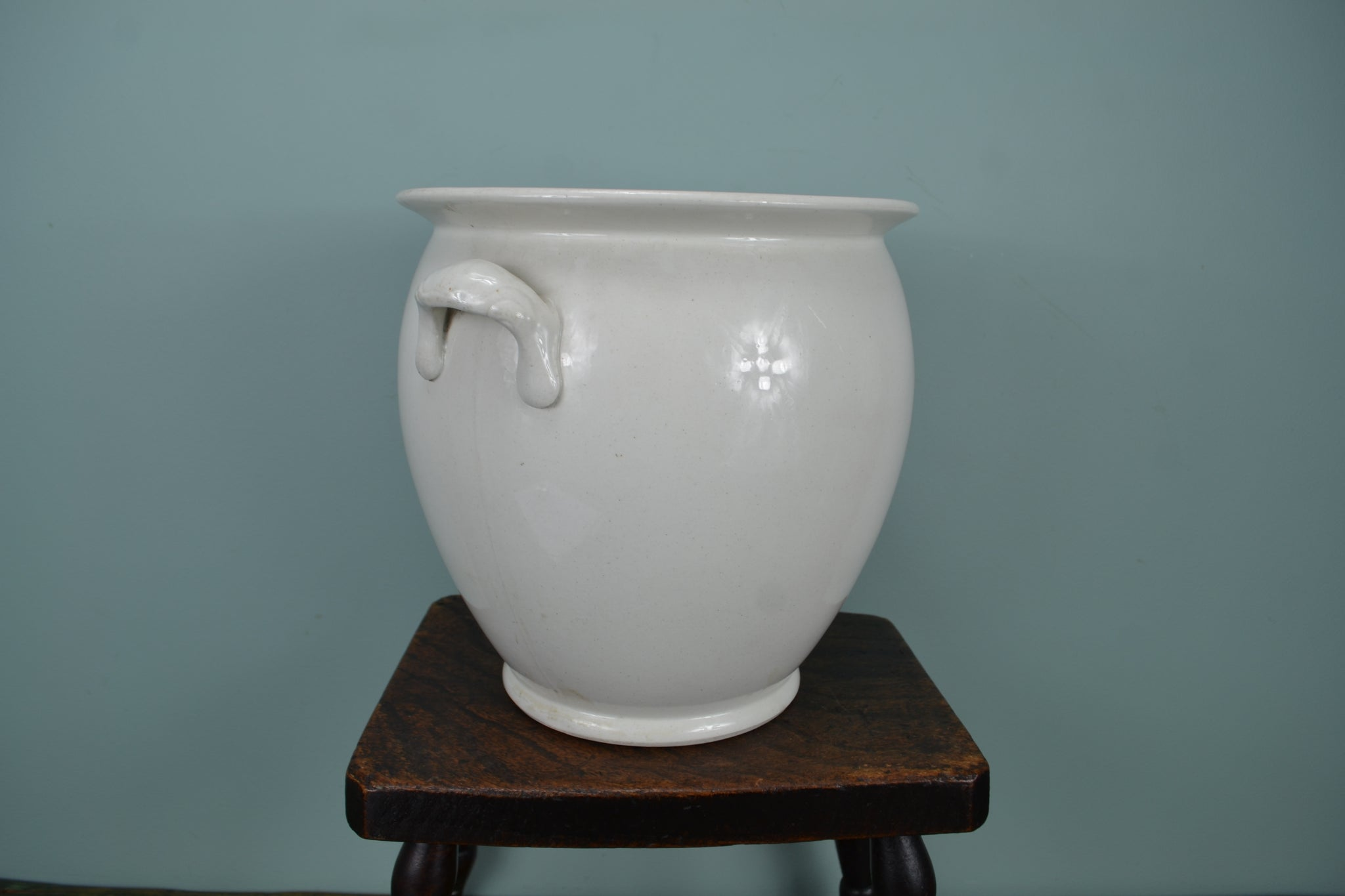 Antique Cream Pail