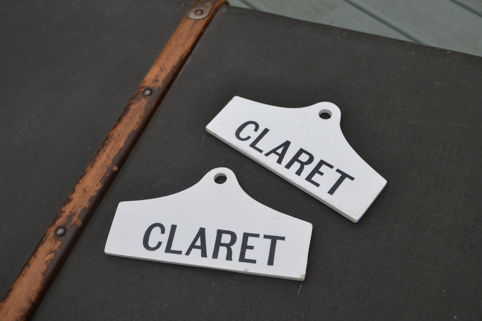 Claret Cellar labels - £65.00 each