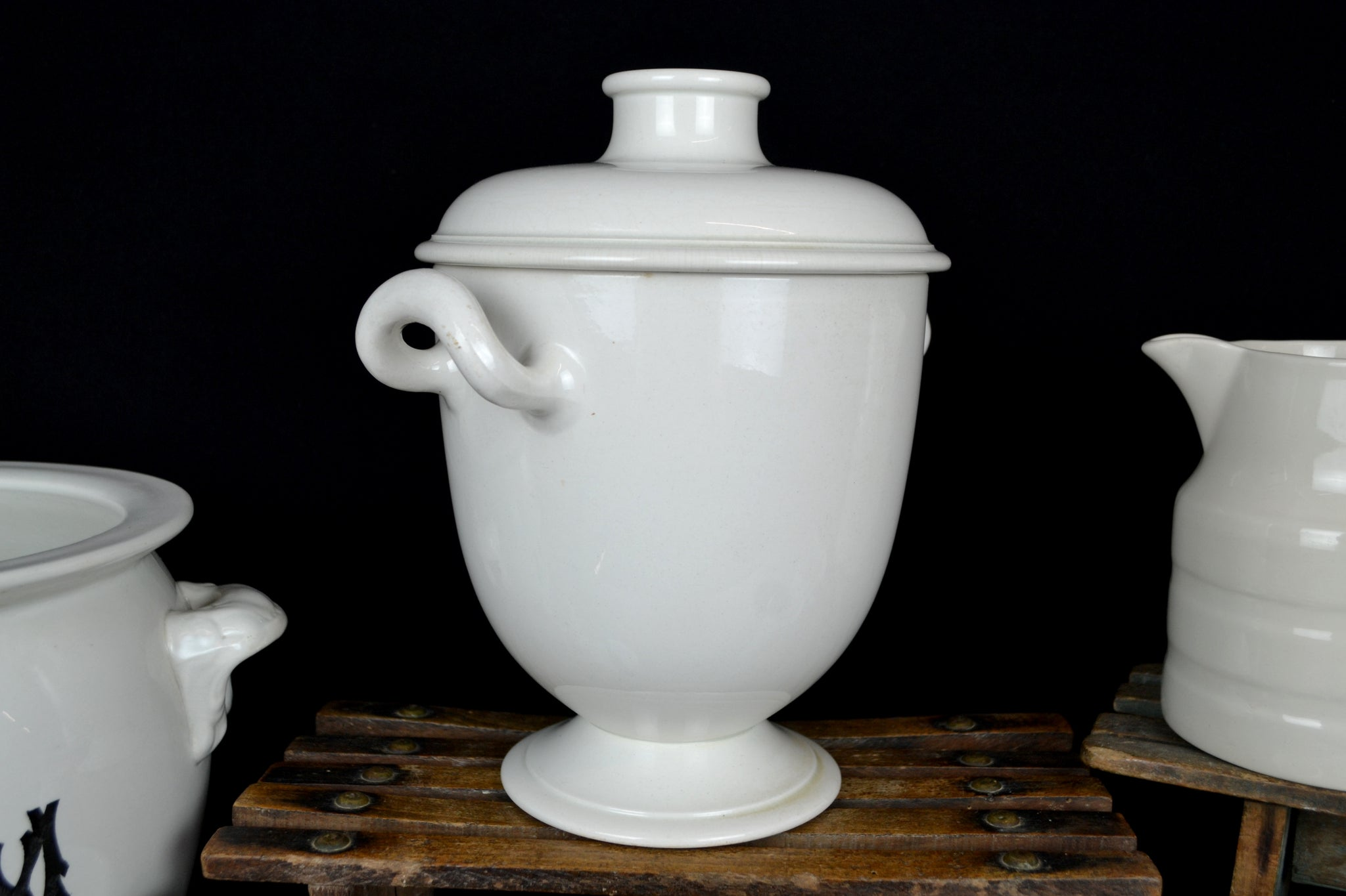 Georgian Wedgwood Cream Cooler & Cover