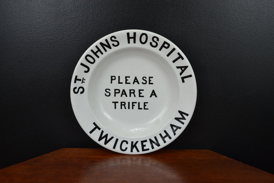St Johns Hospital Trifle Dish
