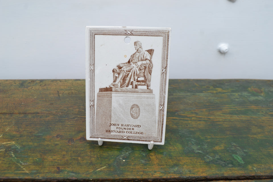 A 1921 Wedgwood calendar plaque for a USA merchant