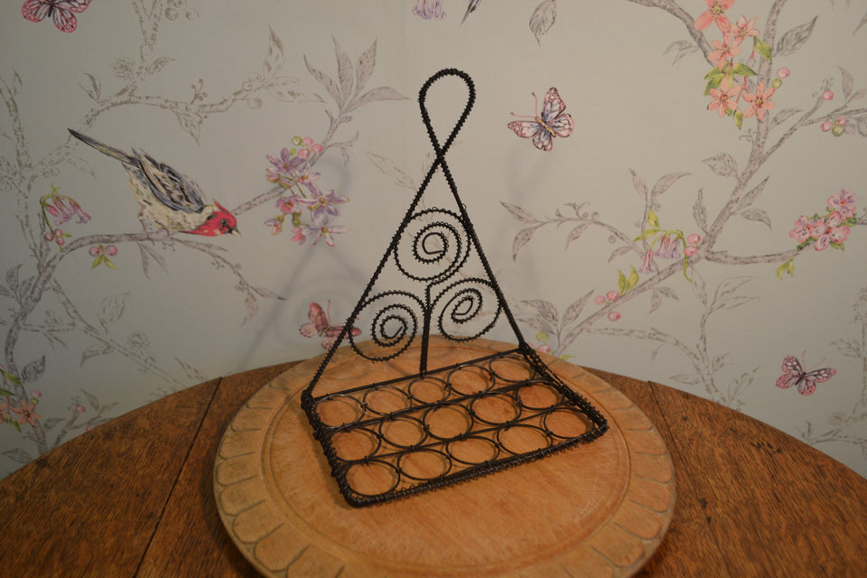Victorian wire work spoon rack