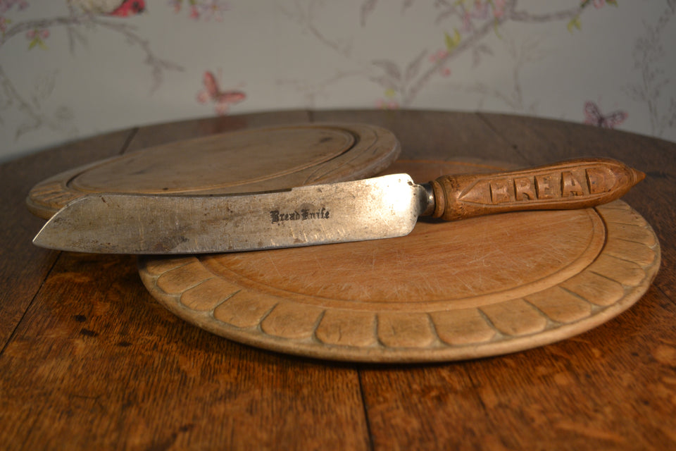 Antique bread knife