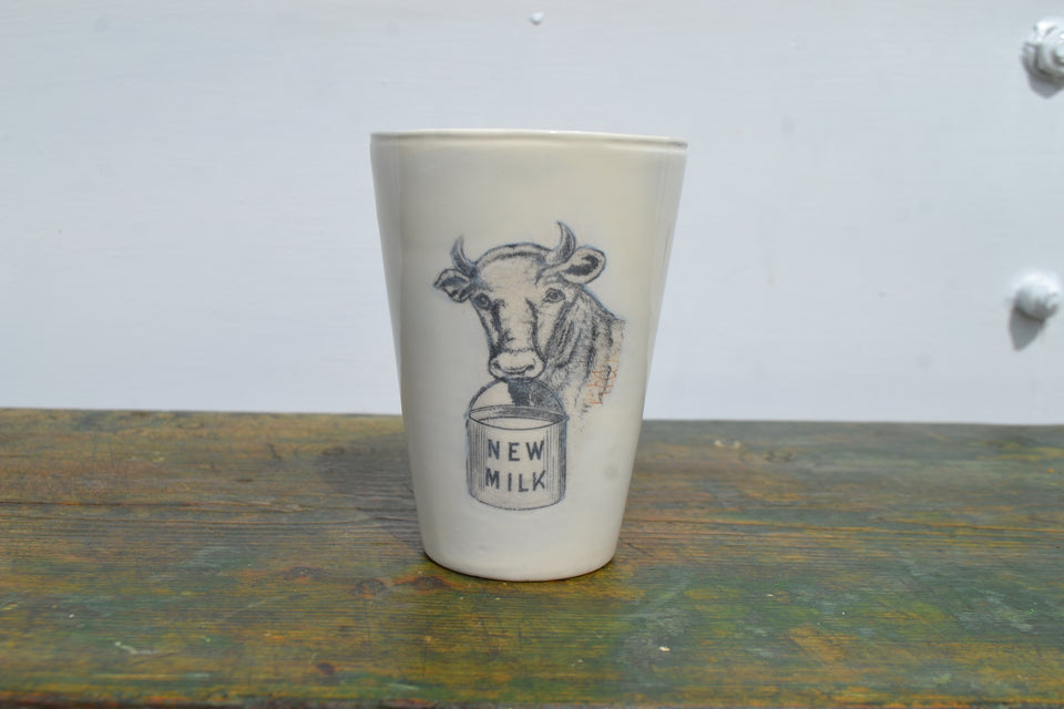 A Dairy Supply co. New milk beaker