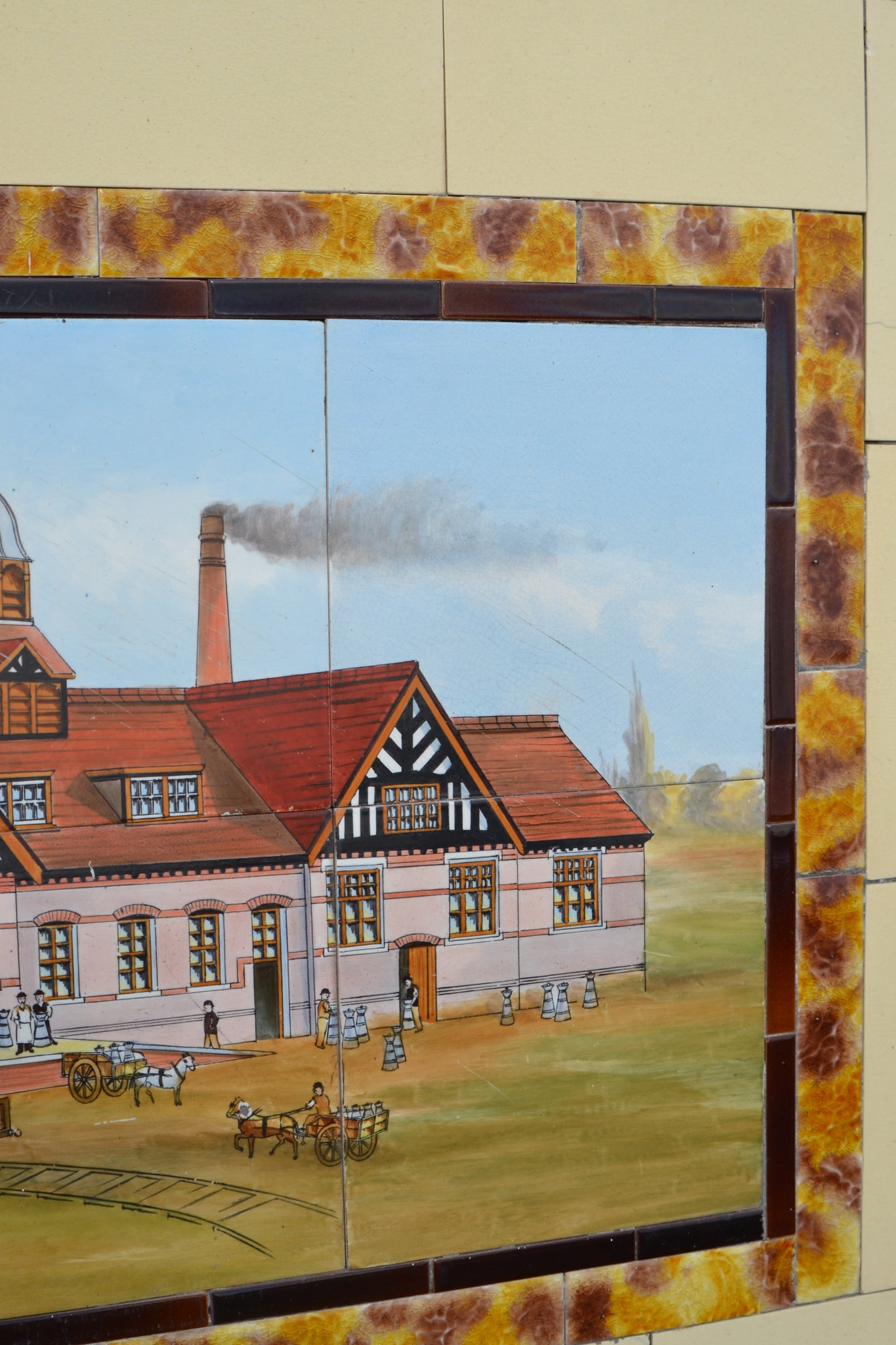 A set of Maypole Dairy Company tiles