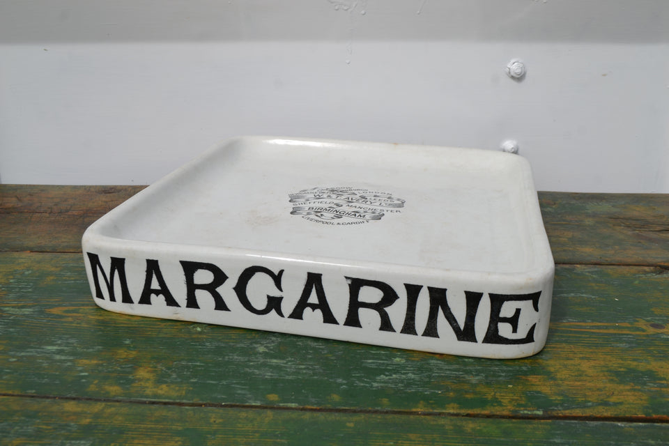 An Edwardian Margarine slab with Avery top transfer