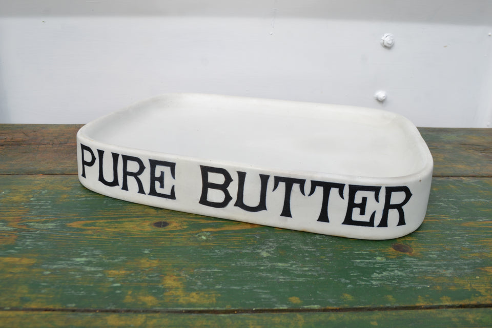 A Parnall & Sons 'Pure Butter' grocers slab