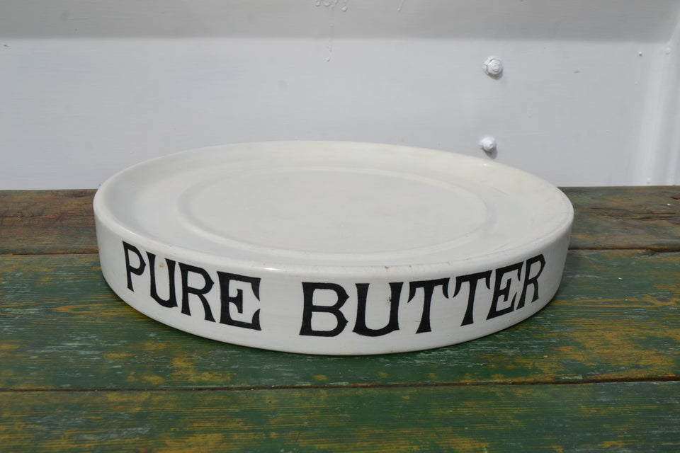 A circular Pure Butter slab