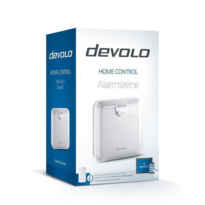Devolo Home Control Alarmsirene - Rauchmelder - digitrends.ch
