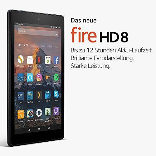 Amazon Fire HD 8-Tablet (16 GB) - mit Spezialangeboten - digitrends.ch