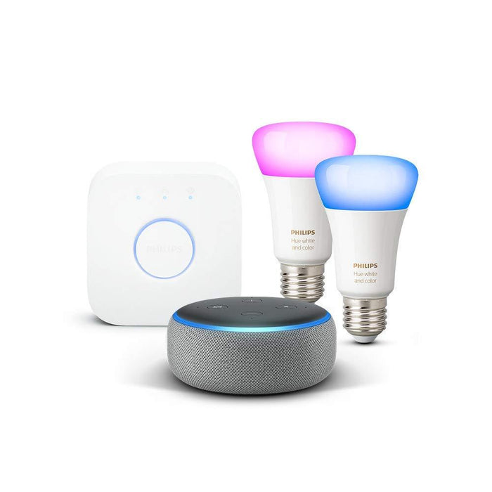 Amazon Echo Dot (3. Generation) + Philips Hue Color Set - intelligente Sprachassistenten - digitrends.ch
