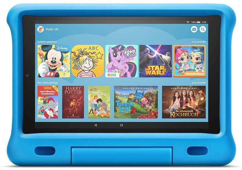 "Amazon Fire 10 ""Kids Edition""-Tablet (10""-Display, 32 GB, Blau) -  - digitrends.ch"
