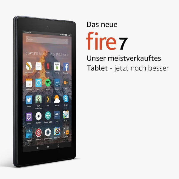 Amazon Fire 7-Tablet (16 GB) - mit Spezialangeboten - digitrends.ch