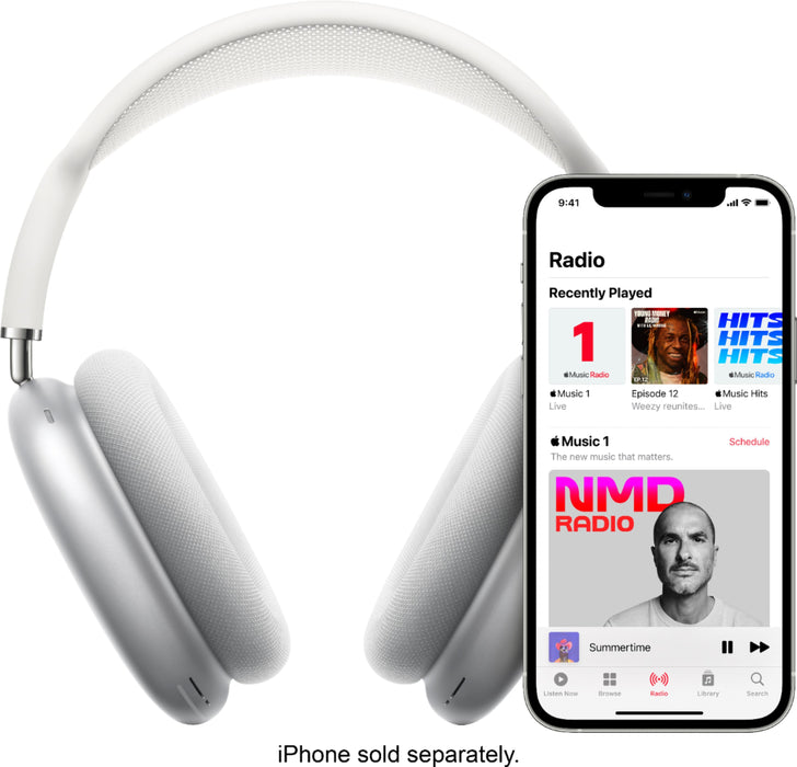 Apple AirPods Max (Silber) - Over-Ear Kopfhörer mit Active Noise Cancelling