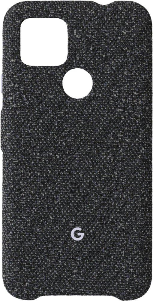 Google Pixel 4a mit 5G Case / Backcover (Basically Black, Stoff)