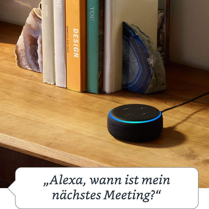 Das neue Amazon Echo Dot (3. Generation), Anthrazit Stoff - intelligente Sprachassistenten - digitrends.ch