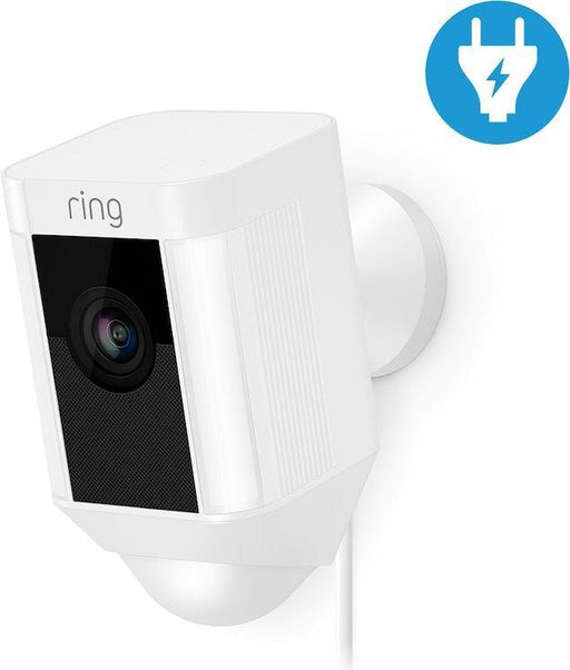 Ring Spotlight Cam - verkabelt (Weiss, Outdoor) - Aussenkameras - digitrends.ch