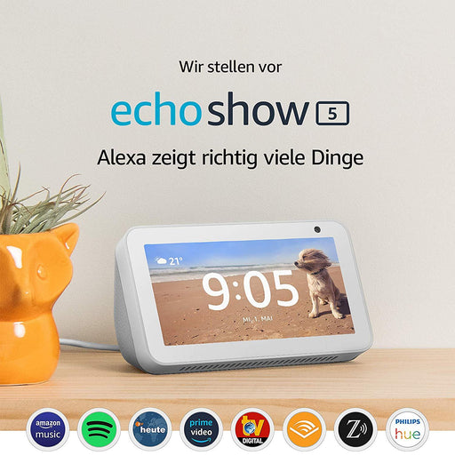"Amazon Echo Show 5 - 5,5""-Smart-Home-Display mit Alexa (Weiss) - intelligente Sprachassistenten - digitrends.ch"
