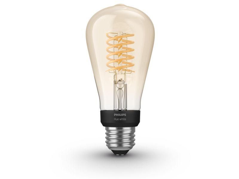 Philips Hue White Filament ST64 (E27, 7 W, Bluetooth) - Glühbirnen - digitrends.ch