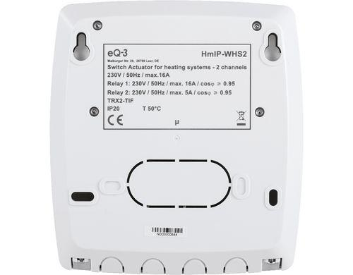 Homematic IP Fussbodenheizungsaktor (230 V, 2-fach) -  - digitrends.ch