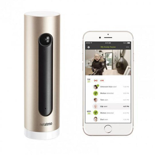 Netatmo Welcome - Smart Home Full HD Kamera mit Gesichtserkennung - Aussenkameras - digitrends.ch