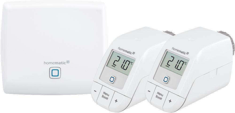 Homematic IP Starter Set 'Heizen' - Komfortable Steuerung der Raumtemperatur -  - digitrends.ch