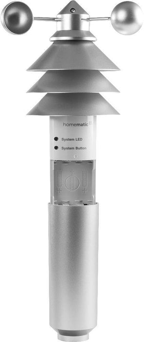Homematic IP Wettersensor Basic (Silber) - Temperatursensoren & Wetterstationen - digitrends.ch