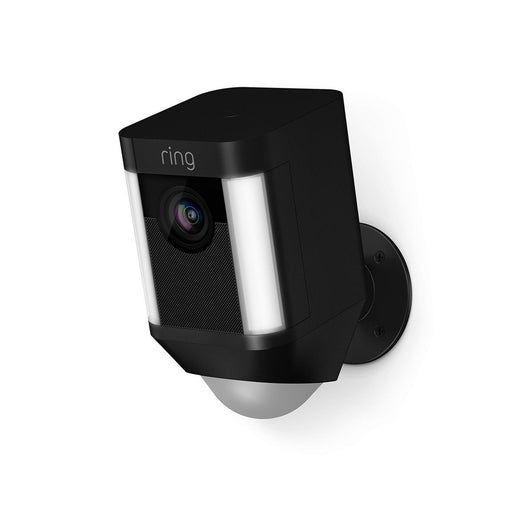 Ring Spotlight Cam - Akku, kabellos (Schwarz, Outdoor) - Aussenkameras - digitrends.ch