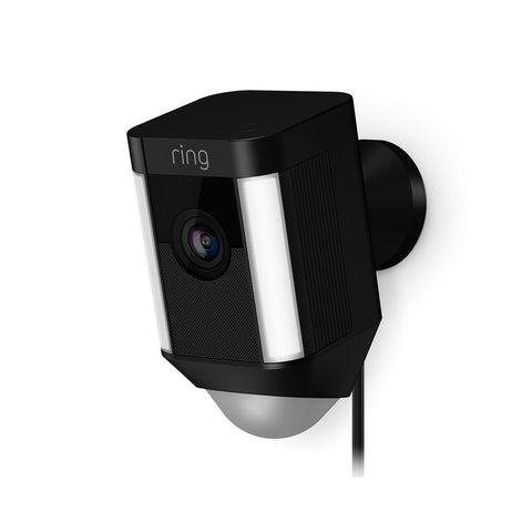 Ring Ring Spotlight Cam - verkabelt (Schwarz, Outdoor) - digitrends.ch