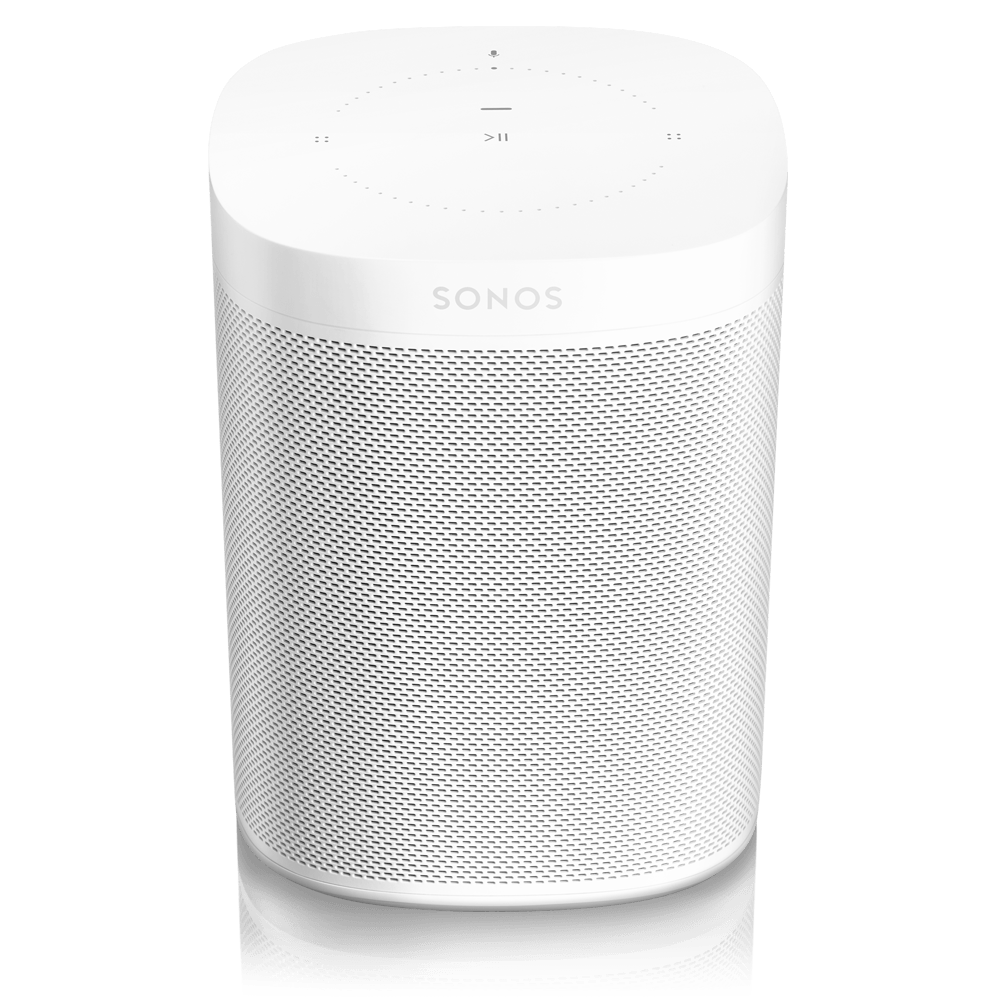 SONOS One (Weiss) - 2. Generation - intelligente Sprachassistenten - digitrends.ch