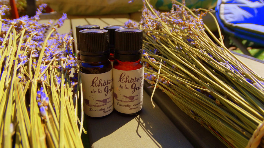 Benefits of lavender oil - Chateau de la gabelle