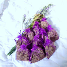 Lavender organza bags filled with Chateau de la gabelle highly fragrant organic lavender 2020 - Provence Lavender (Chateau de la Gabelle) UK
