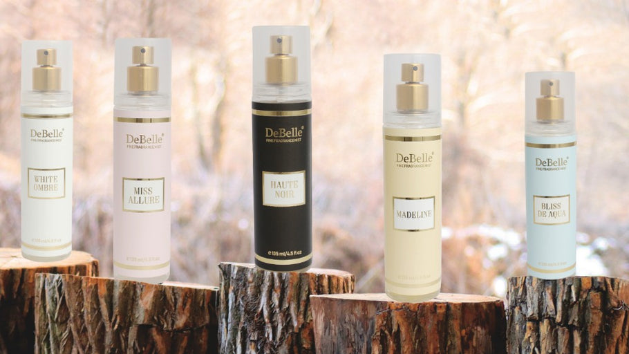 Introducing DeBelle Fine Fragrance Body Mists!