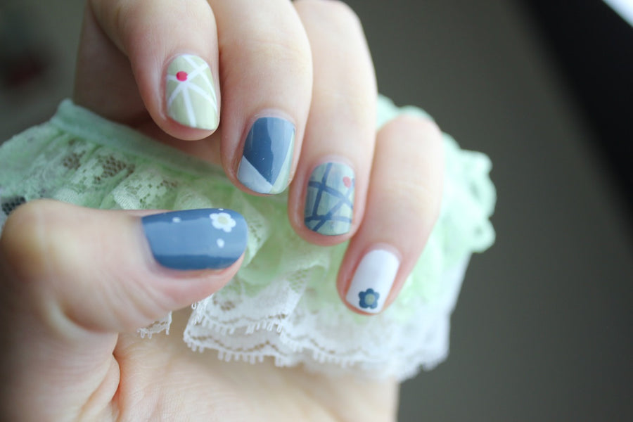 5 Nail Art Designs For Beginners