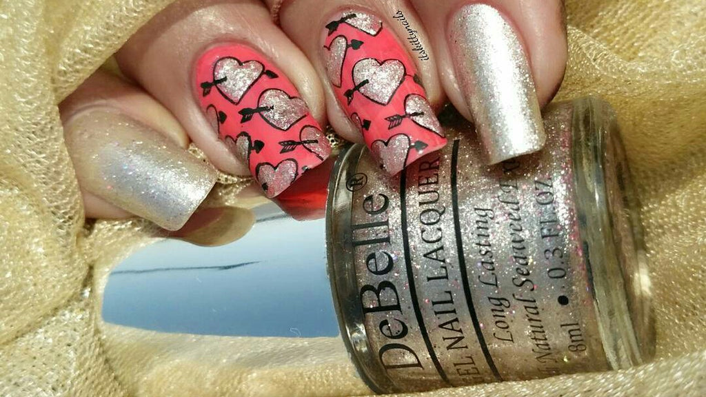 8 Cute & Easy Valentine's Day Nail Art Designs Ideas