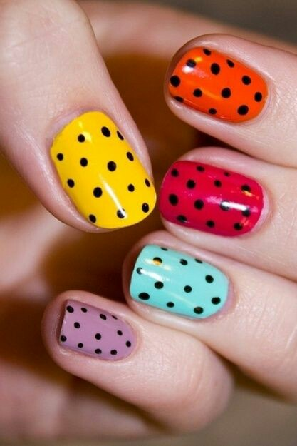 8 Monsoon Nail Art Designs