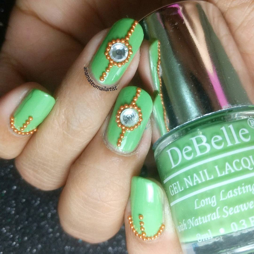 Best Nail Art Designs To Try With DeBelle Gel Nail Lacquers