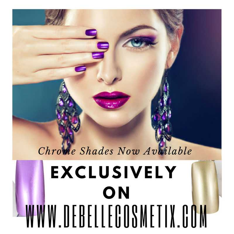 DeBelle Chrome Nail Lacquers