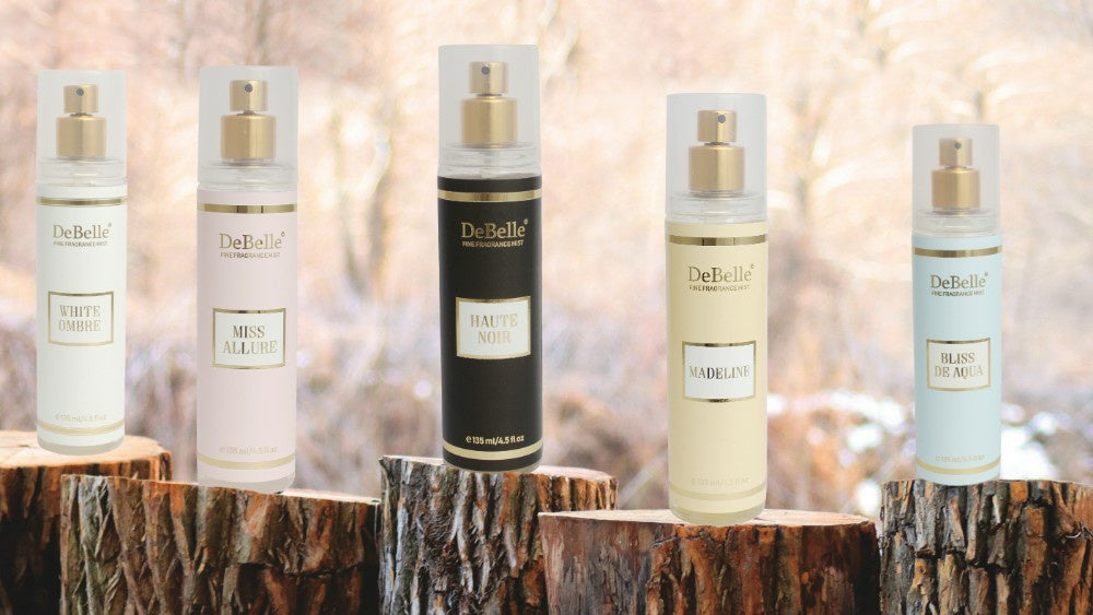 DeBelle Fine Fragrance Body Mists