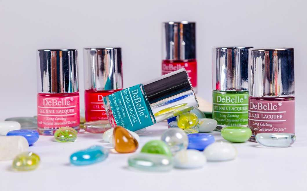 Colourful DeBelle Gel Nail Lacquers - Affordable Trendy Long Lasting Gel Nail Lacquers With High Shine