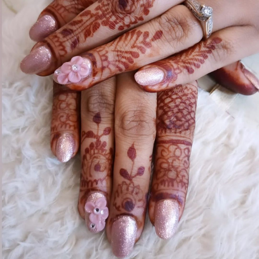 Indian Bridal Nail Art Trends For 2020