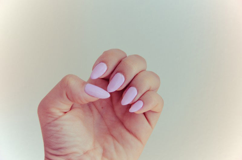 Make Your Own Pastel Nail Polish With A Lighter Shade