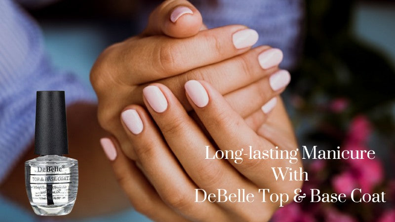 Keep Your Manicure Looking Fresh For Long With A Glossy Top Coat