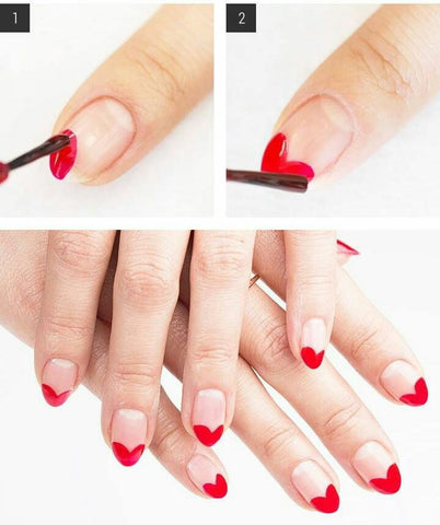 7 Creative Red Nail Art Designs That You Should Try